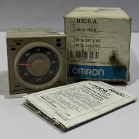 Omron H3CR-A Timer 1.2s to 300h 100-240VAC / 100-125 VDC - Japan
